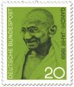 Stamp: Mahatma Gandhi Bild
