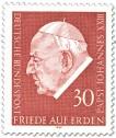 Stamp: Papst Johannes XXIII.