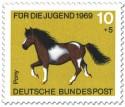 Stamp: Pony Gescheckt
