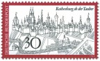 Stamp: Rothenburg Ob Der Tauber Stadtansicht