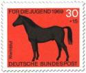 Stamp: Warmblut Pferd