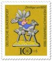 Stamp: Zinnfigur: Christuskind in Krippe (Weihnachtsmarke 1969)