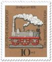 Stamp: Zinnfigur um 1835 - Dampfeisenbahn