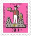 Stamp: Zinnfigur um 1850 - Vogelhändler
