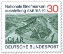 Stamp: Briefmarkenausstellung Sabria 1970