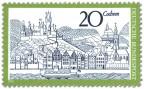 Stamp: Cochem an der Mosel (Stadtansicht)