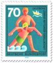 Stamp: DLRG: Deutsche Lebensrettungsgesellschaft