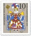 Stamp: Engel im Kostüm (Weihnachtsmarke 1970)