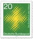 Stamp: Das Evangelium allen Völkern (leuchtendes Kreuz)