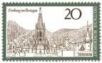 Stamp: Freiburg im Breisgau (Stadtansicht mit Münster)