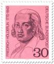Stamp: Friedrich Hölderlin (Dichter)