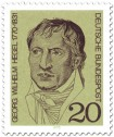 Stamp: Georg Wilhelm Friedrich Hegel (Philosoph)