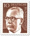 Stamp: Gustav Heinemann (10)