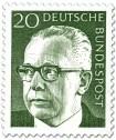 Stamp: Gustav Heinemann (20)