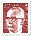 Stamp: Gustav Heinemann (30)