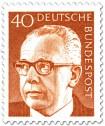 Stamp: Gustav Heinemann (40)