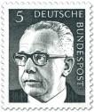 Stamp: Gustav Heinemann (5)