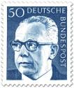 Stamp: Gustav Heinemann (50)