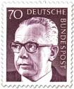Stamp: Gustav Heinemann (70)