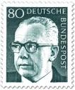 Stamp: Gustav Heinemann (80)