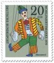 Stamp: Hanswurst Marionette