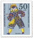 Stamp: Harlekin Marionette