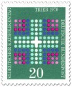 Stamp: Kreuz - Katholikentag Trier 1970