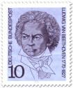 Stamp: Ludwig van Beethoven (Komponist)