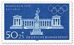 Stamp: München Bavaria und Ruhmeshalle