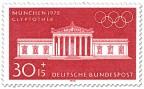 Stamp: München Glyptothek