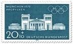 Stamp: München Propylaeen