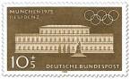 Stamp: München Residenz