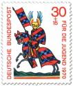 Stamp: Ritter Walther von Metz