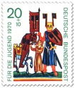 Stamp: Ritter Wolfram von Eschenbach