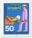Stamp: Unfallschutz: Verletzter wird abtransportiert