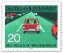 Stamp: Autobahn: nach dem Überholen blinken
