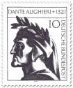 Stamp: Dante Alighieri (Dichter, Philosoph)