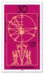 Stamp: Erde Kugel Modell Johannes Kepler