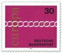 Stamp: Europamarke 1971 Kette 30