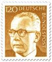 Stamp: Gustav Heinemann (120)