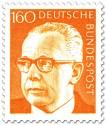 Stamp: Gustav Heinemann (160)