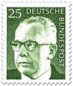 Stamp: Gustav Heinemann (25)