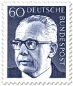 Stamp: Gustav Heinemann (60)