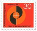 Stamp: Kreise und Spirale (Ökumenisches Pfngsttreffen)