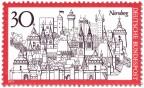 Stamp: Nürnberg Stadtansicht