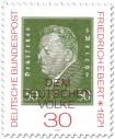 Stamp: Friedrich Ebert (dt. Reichspräsident)