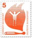 Stamp: Streichholz-Flamme - Feuergefahr