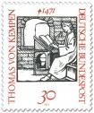 Stamp: Thomas von Kempen (Mönch, Mystiker)