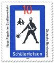 Stamp: Verkehrsschild: Schülerlotse