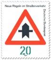 Stamp: Verkehrsschild 301: Vorfahrt